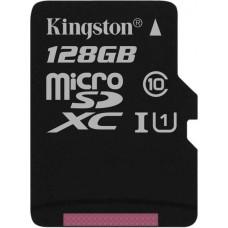Карта памяти Kingston microSDXC 128GB Class 10 UHS-I R45/W10MB/s